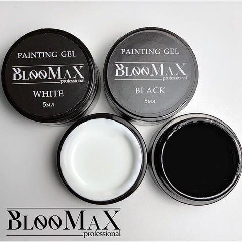 Гель краска для френча extra black, 5 мл