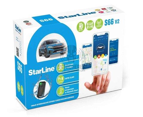 Автосигнализация StarLine S66v2 BT GSM