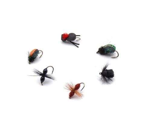 Набор мушек Pacific Fly Group Ants/Beetles №1 р. М., 6 шт. (70003752)