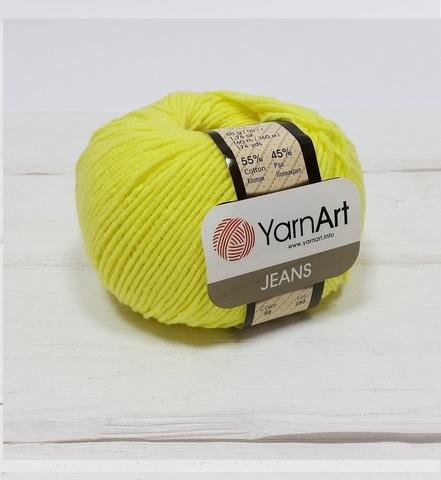 Пряжа YarnArt JEANS - (58-лимонный)