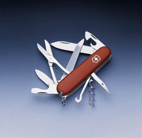 Нож Victorinox Mountaineer, 91 мм, 18 функций, красный123