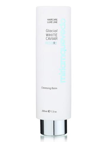 Очищающий бальзам для волос с маслом прозрачно-белой икры / Miriamquevedo Glacial White Caviar Resort Cleansing Balm