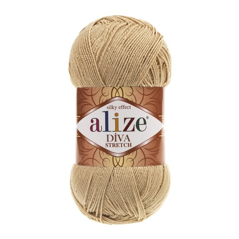 Пряжа Alize Diva Stretch цвет 368