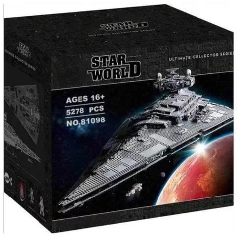 Конструктор King Star World 81098 Имперский Звёздный разрушитель