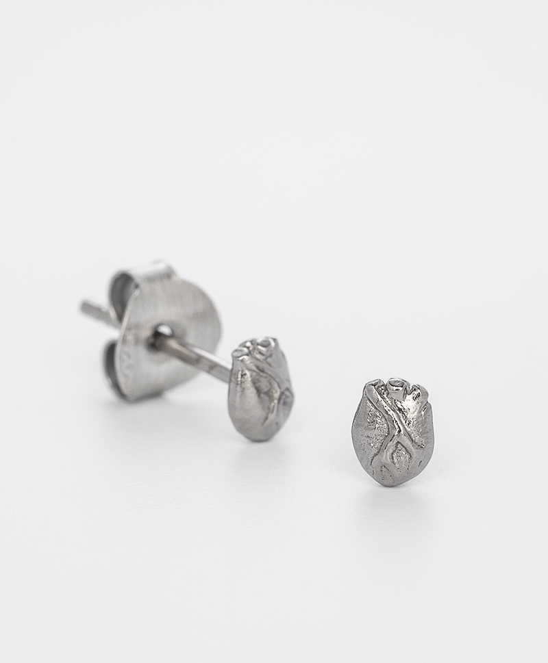 Серьги Anatomic Heart Miniature Studs