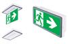 Vella LED SO может применяться как светодиодный световой указатель или как светильник аварийного освещения
