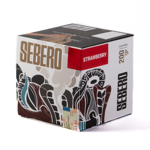 Табак Sebero Strawberry (Клубника) 200 г