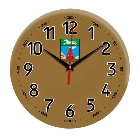 Интерьерные часы герб Барнаул 11
