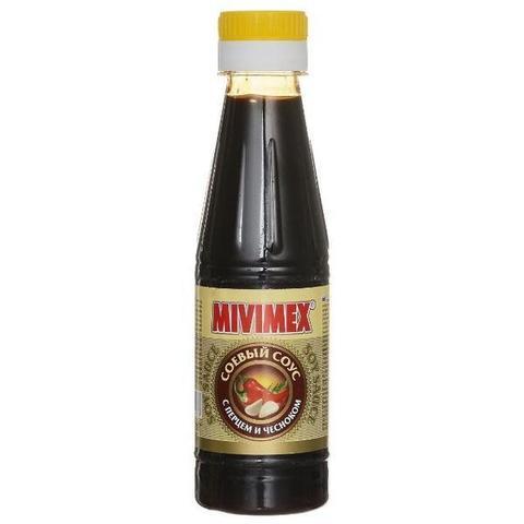 Соус соевый Мивимекс с перцем и чесноком 200г