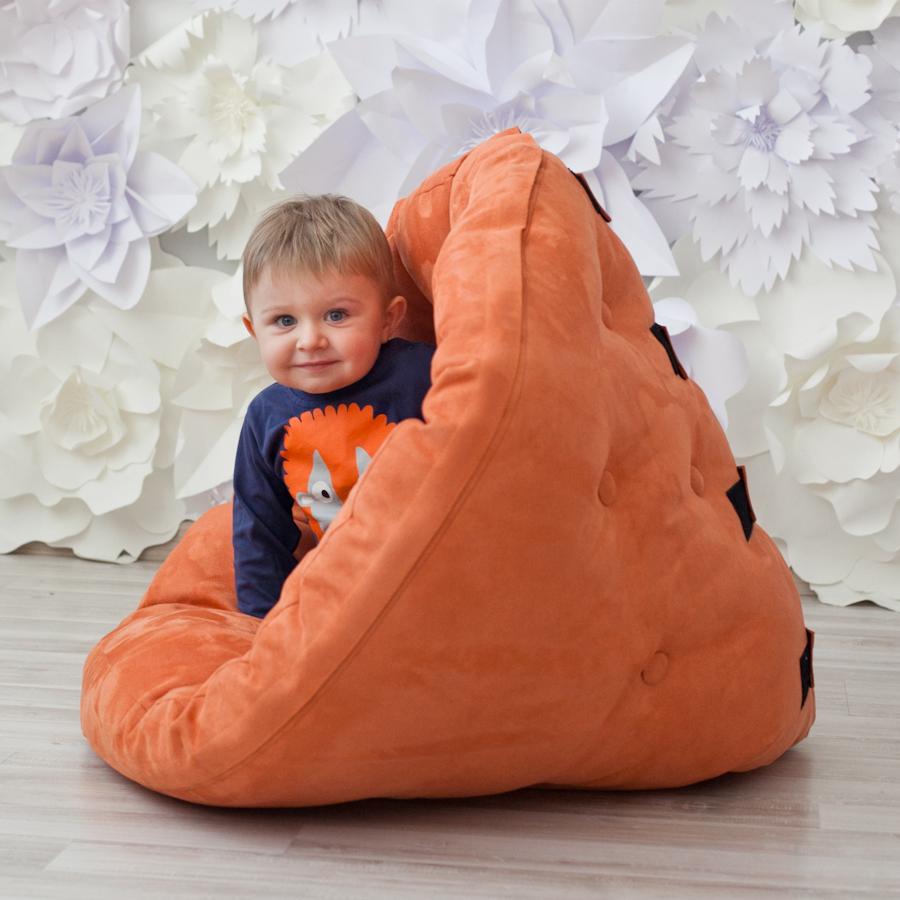 Кресла в детскую Кресло Farla Lounge Kids Оранжевое kreslo-v-detsuyu.png