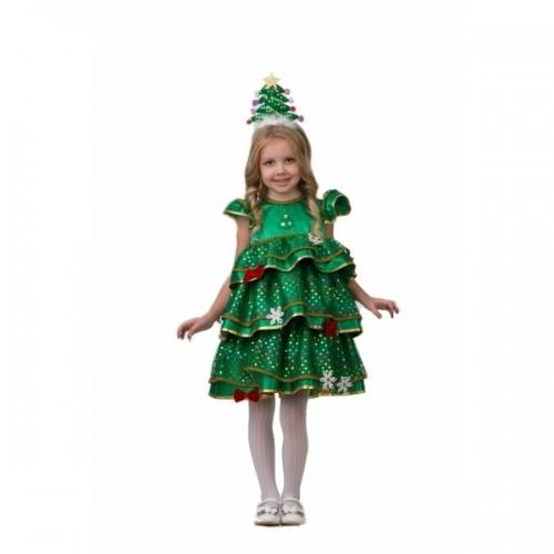 Детский карнавальный костюм Ёлочка Малышка