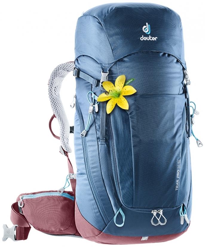 Туристические рюкзаки легкие Рюкзак Deuter Trail Pro 34 SL image2__2_.jpg