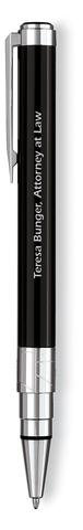 Шариковая ручка Waterman Perspective, цвет: Black CT, стержень: Mblue123