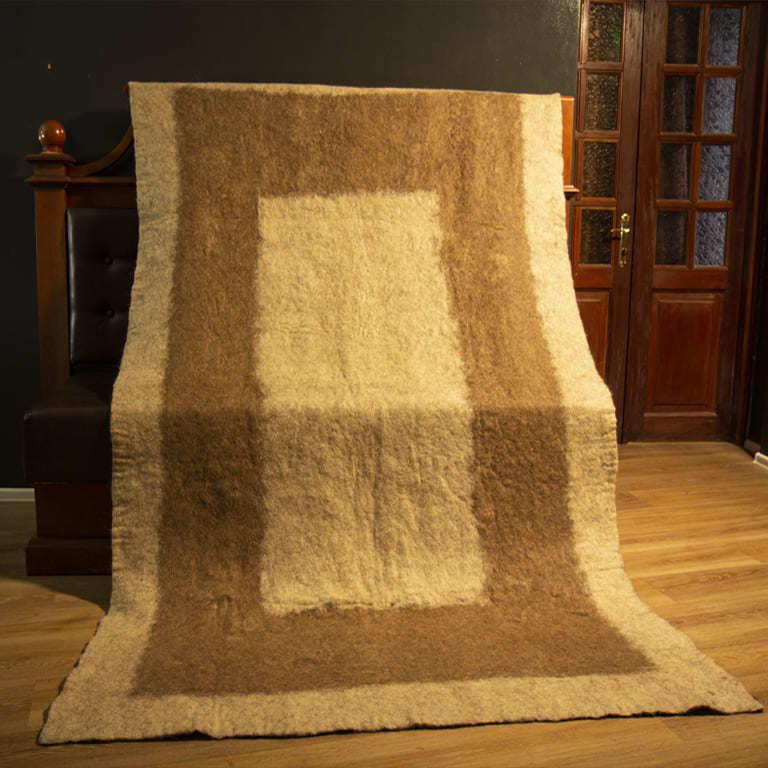 Одеяло из шерсти верблюда и верблюжат