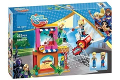 Конструктор Супер Герл Super Power Girl  10617 Харли Квин спешит на помощь, 223 дет.