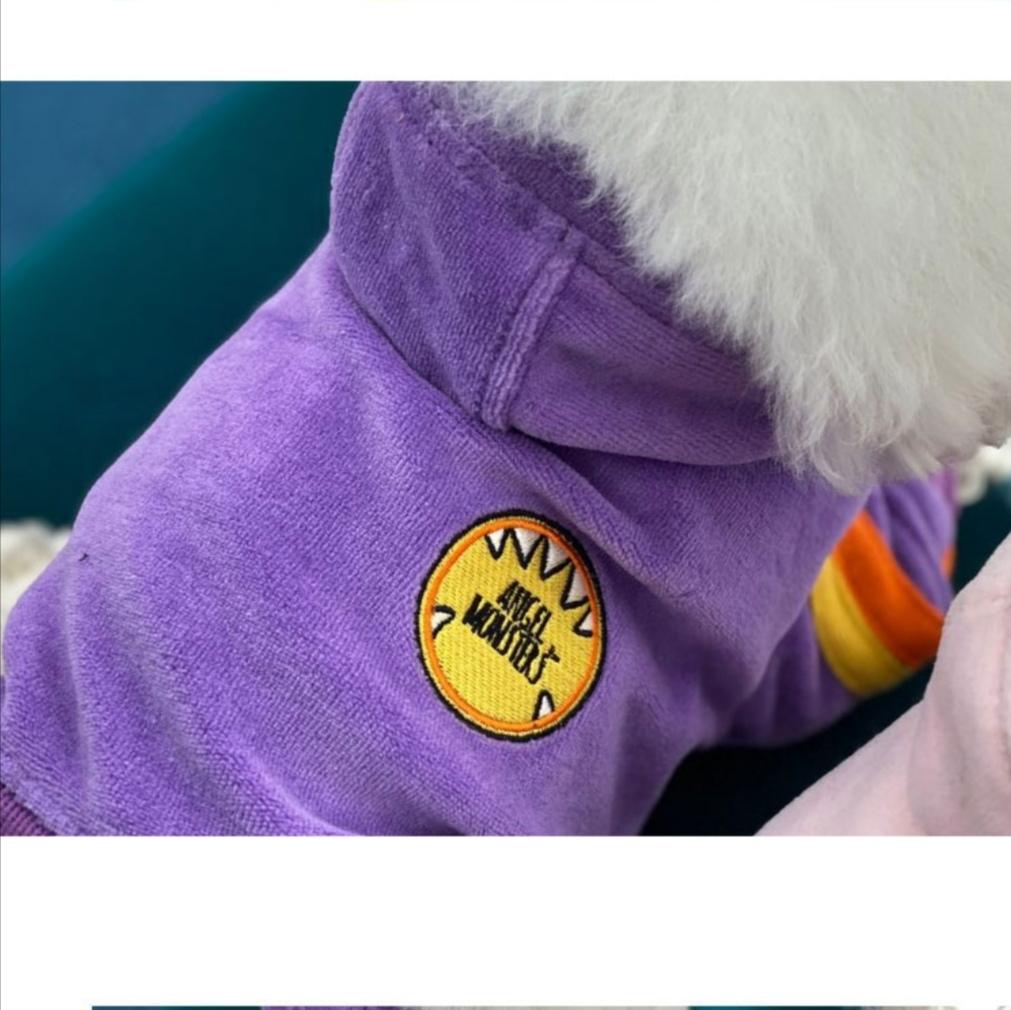 329 PA - Велюровые коcтюмы для собак