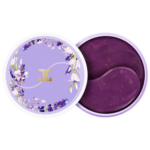 Jayjun Lavender Tea Eye Gel Patch Успокаивающие патчи для век с лепестками лаванды 60 шт.