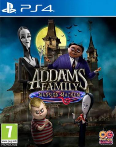 Семейка Аддамс: Переполох в особняке (PS4, русская версия)