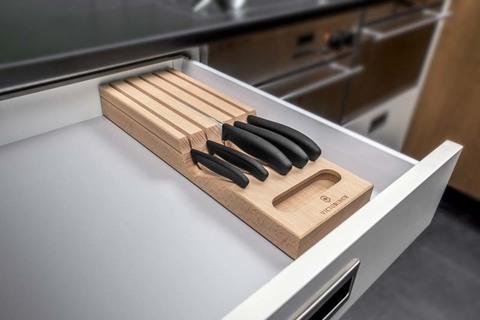 Набор Victorinox кухонный, 5 предметов, в подставке из бука