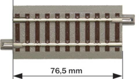 G76,5: Прямая, geoLine - 76,5мм.