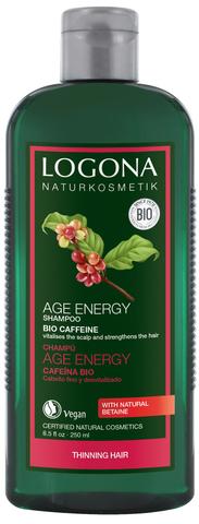 LOGONA Шампунь для укрепления волос с Био-Кофеином