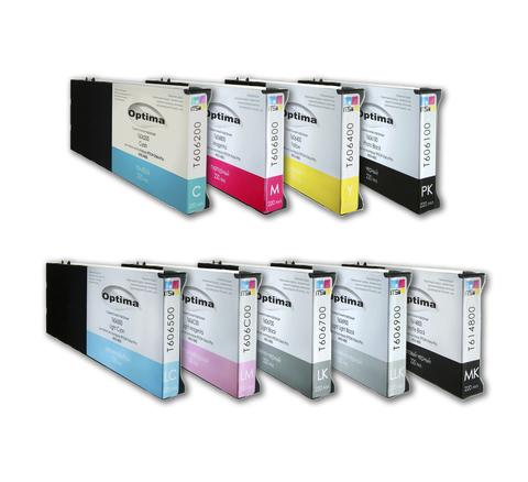 Комплект из 9 картриджей для Epson 4800/4880 9x220 мл