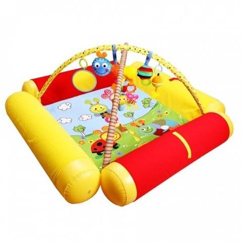 Развивающий коврик Biba Toys Друзья Бюсси с надувными бортиками GD158