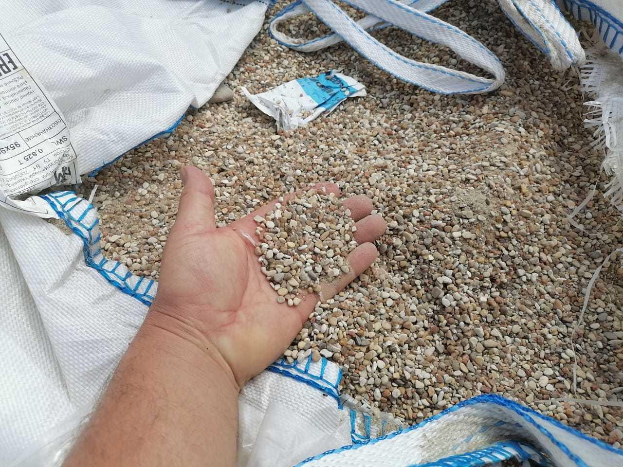 песок на участок