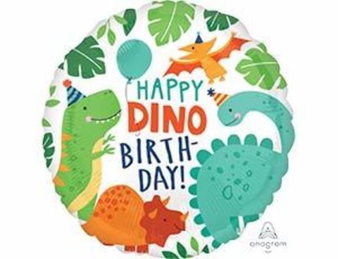Фольгированный шар Вечеринка динозавров