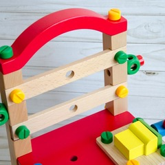 Деревянный конструктор Стул с набором инструментов