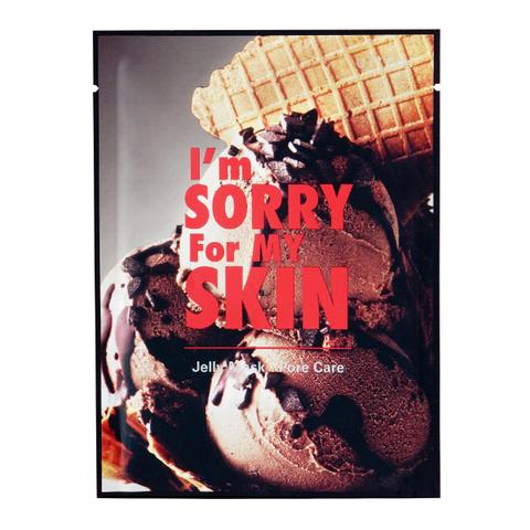 I'm Sorry For My Skin  Гелевая маска для сужения пор Pore Care Jelly Mask (Ice Cream), 1 шт