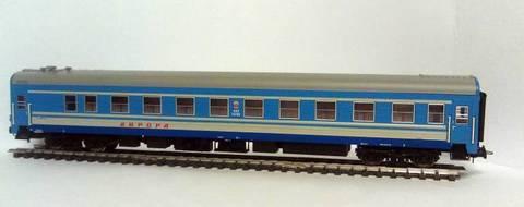 Eurotrain 0213/1 Пассажирский вагон ЦМВ СССР