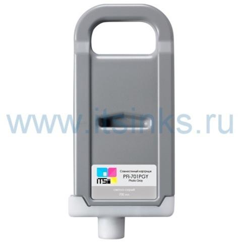 Картридж PFI-701PGY700 мл