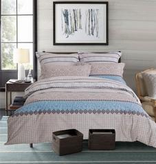 Сатиновое постельное бельё  1,5 спальное Сайлид  В-193