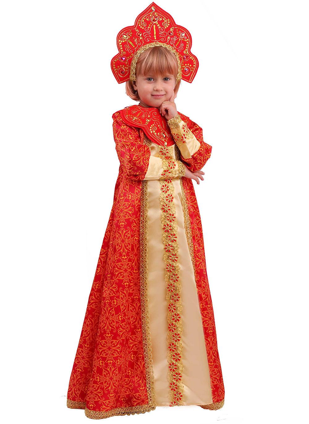 Карнавальный костюм детский  Царевна Марья