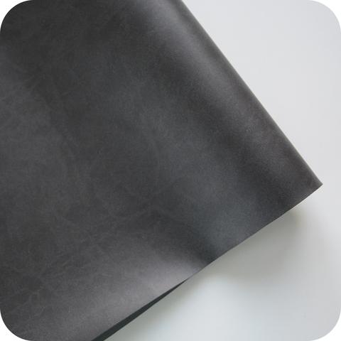 Кожзам переплетный матовый, темно-серый