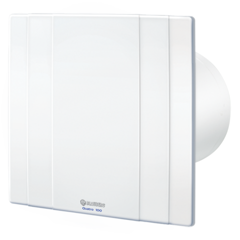 Накладной вентилятор Blauberg Quatro 100 T (Таймер)
