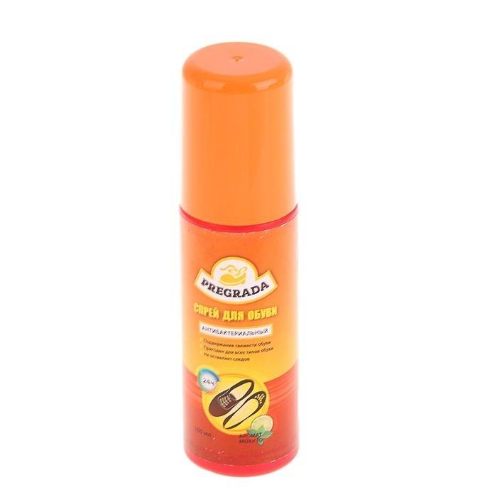Спрей для обуви Pregrada защита от запаха на 12 часов