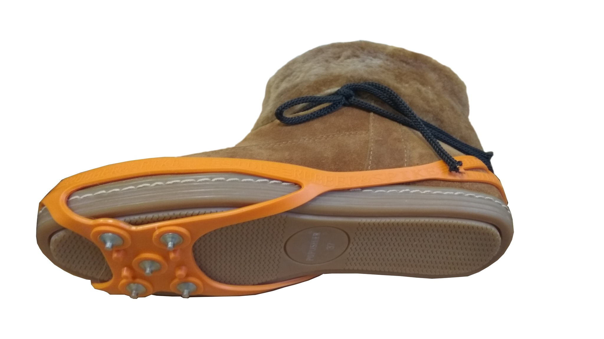 Ледоходы улучшенные на 5 шипах-гвоздиках (не портят носок обуви), цветные