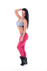 Женские леггинсы Nebbia 222 pink