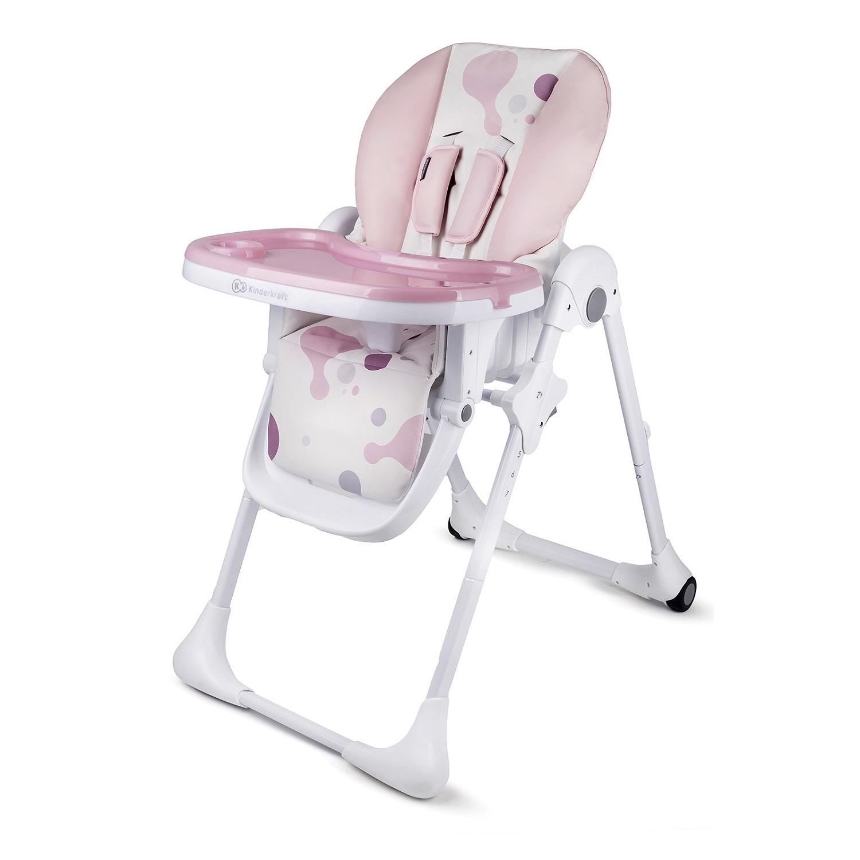 Стульчик для кормления Kinderkraft Yummy Pink
