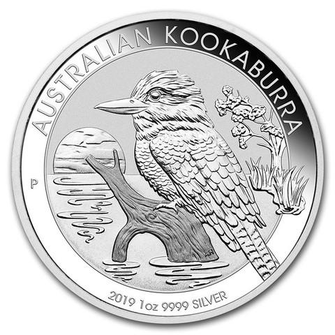 1 доллар. Кукабарра. Австралия. 2019 год