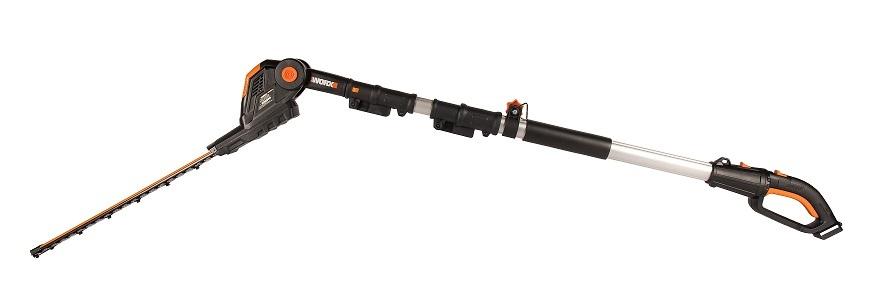 Кусторез телескопический аккумуляторный WORX WG252E.9, 20В 45cm, без АКБ и ЗУ