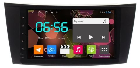 Магнитола Mercedes-Benz E-class  W211/S211 (02-09), CLS W219 (04-10) Android 10 модель CB2098T9