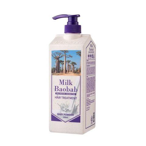 MilkBaobab Treatment Baby Powder бальзам для волос с ароматом детской пудры
