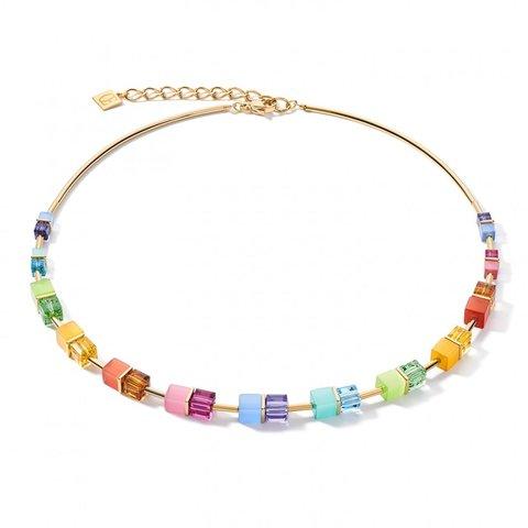 Колье Multicolor Rainbow-Gold 5020/10-1535