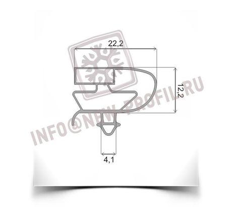 Чертеж уплотнительного профиля 006 (тип ЕА) для холодильного оборудования.