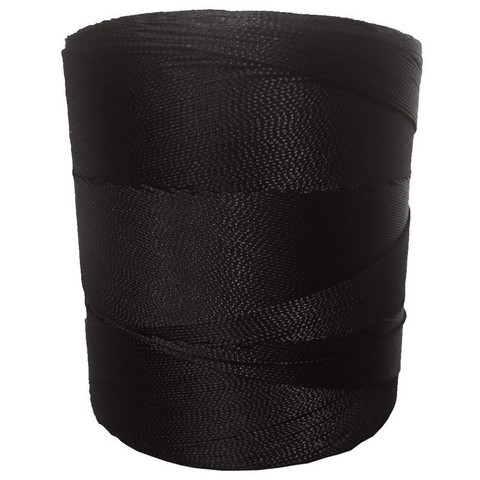 Нить прошивная капроновая в бобинах(ПА187х2х2),d=1,4мм,черная,1000 м,пленка