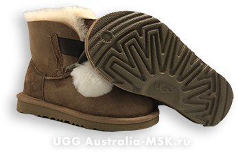 UGG Kids Gita Chestnut