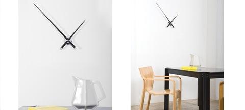Настенные часы Axioma i хром